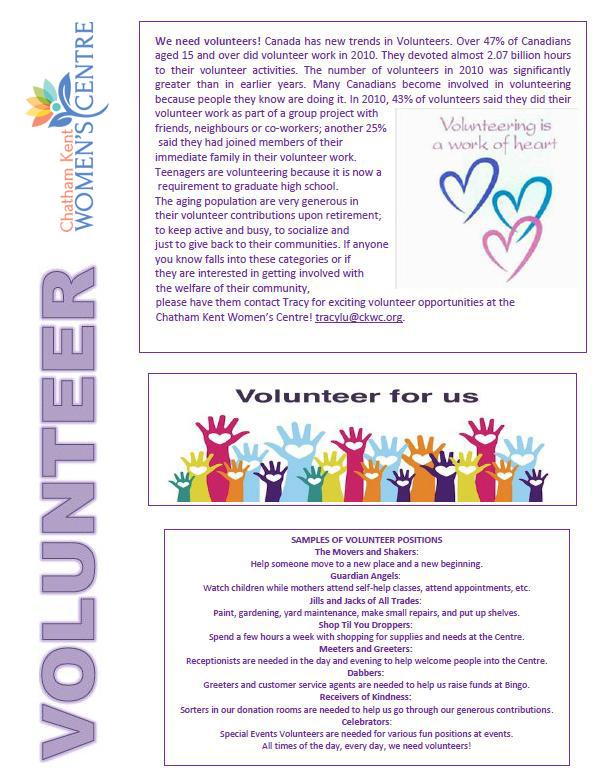 Volunteer - Updated