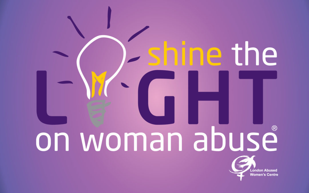 Shine the light on Woman Abuse – November 2019